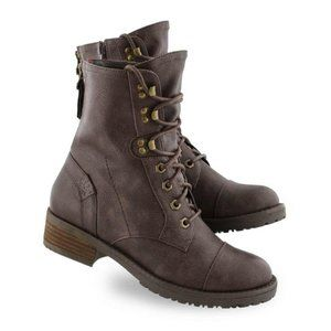New SoftMoc Women's Tegan 2 Lace Up Combat Boot